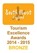 South West England Tourism Excellence Awards 2014/2015