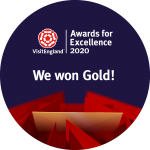 North Hayne Farm - Gold for Self Catering at Visit England 2020 Awards