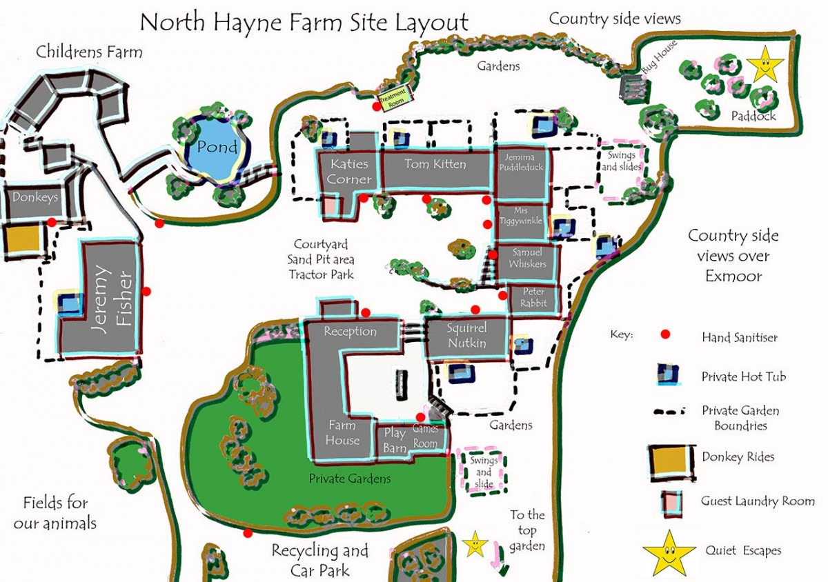 Site Map - COVID Safe Stays