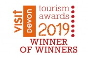 Visit Devon Tourism Awards 2019 Winner of Winners