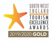 2019/2020 South West Tourism Excellence Awards - Gold for Self Catering Accommodation of the Year